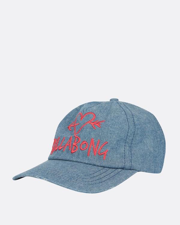0 Girls' Surf Club Baseball Hat Blue GAHWQBSU Billabong