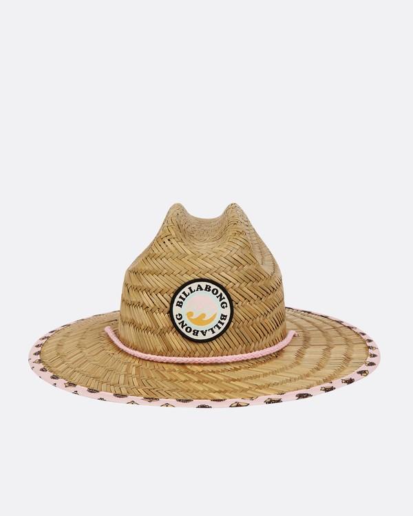 0 Girls' Beach Dayz Lifeguard Hat Beige GAHWTBBE Billabong