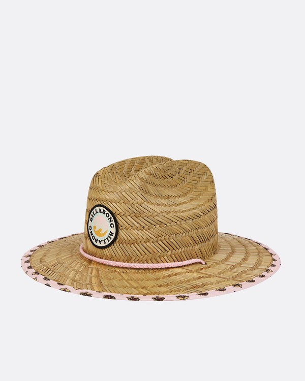 0 Girls' Beach Dayz Lifeguard Hat Beige GAHWTBBE Billabong