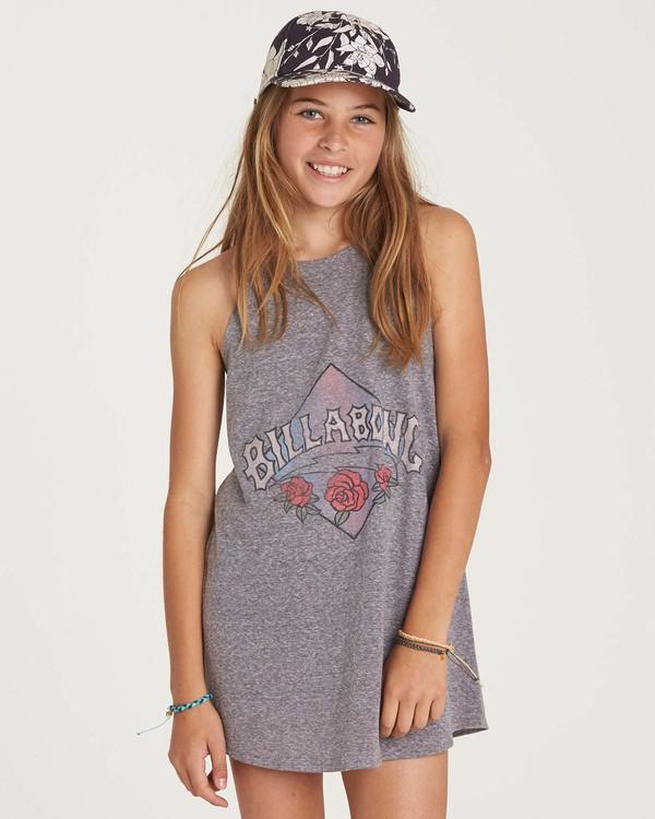 0 Girls' Choose You Dress Grey GD01NBCH Billabong