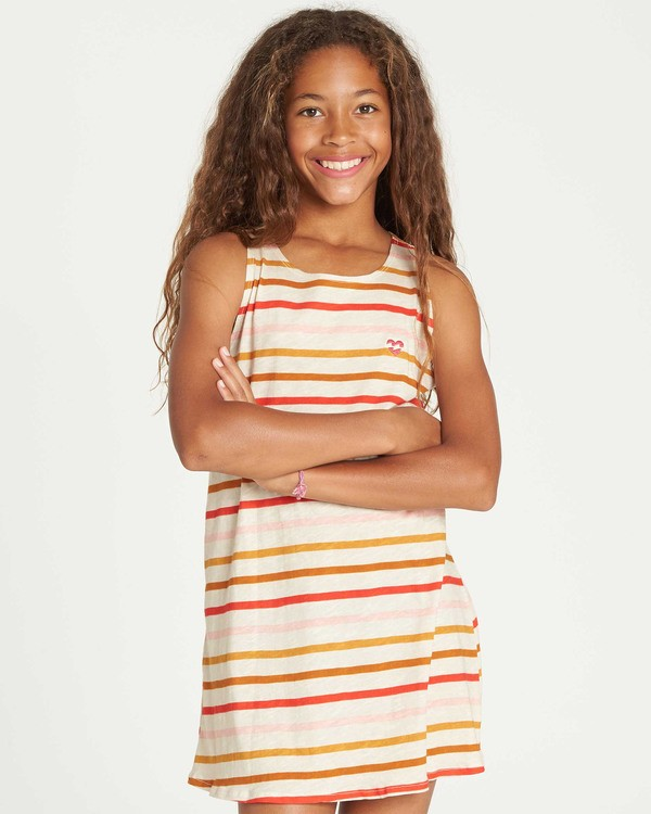 0 Girls' Choose You Tank Dress  GD01TBCH Billabong