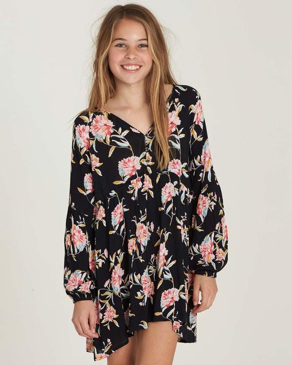 0 Girls' Tomorrows Child Dress Black GD02MTOM Billabong
