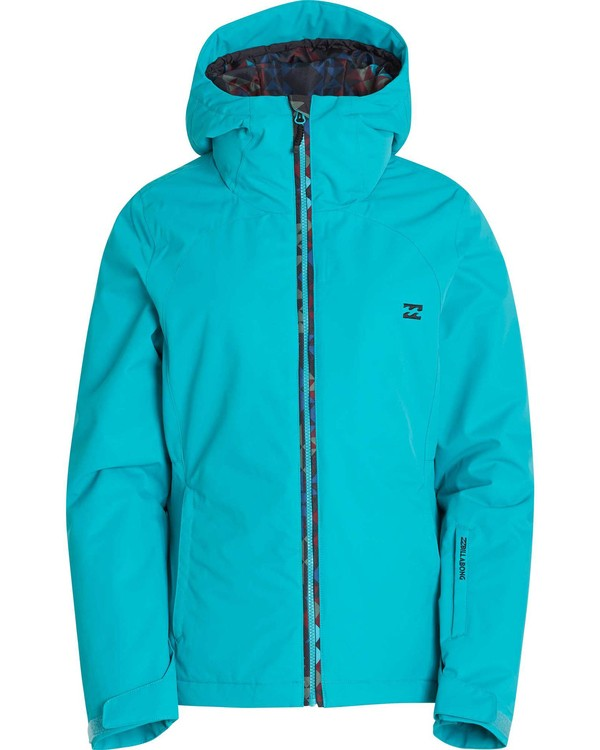 0 Girls' Terrina Outerwear Jacket Blue GSNJLTER Billabong