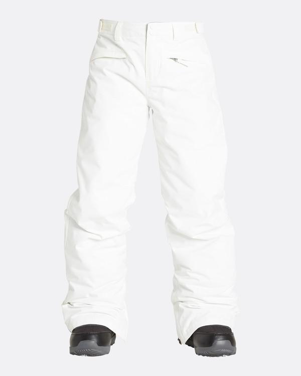 0 Girls' Alue Outerwear Pants White GSNPQALU Billabong