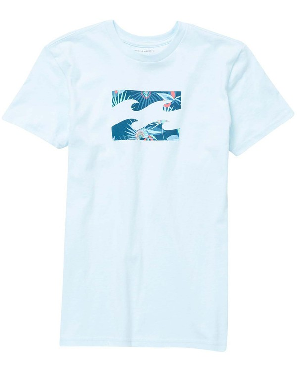 0 Baby Boys' Team Wave Menehune Tee Blue I401NBTE Billabong