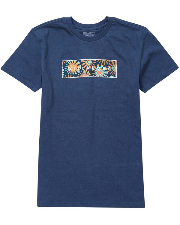 0 Baby Boys' United Menehune Tee Blue I401NBUN Billabong