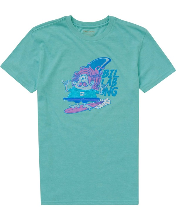 0 Baby Boys' Finny Tee Blue I401PBFI Billabong