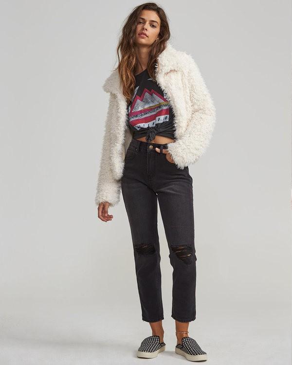 0 Cheeky High-Waisted Jeans Black J301SBCH Billabong