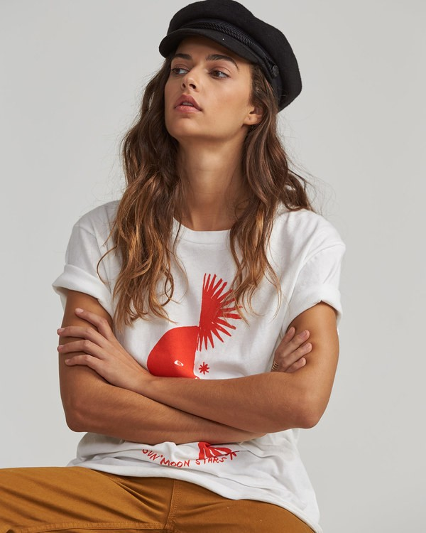 0 Moon And Stars Tee  J437SBMO Billabong