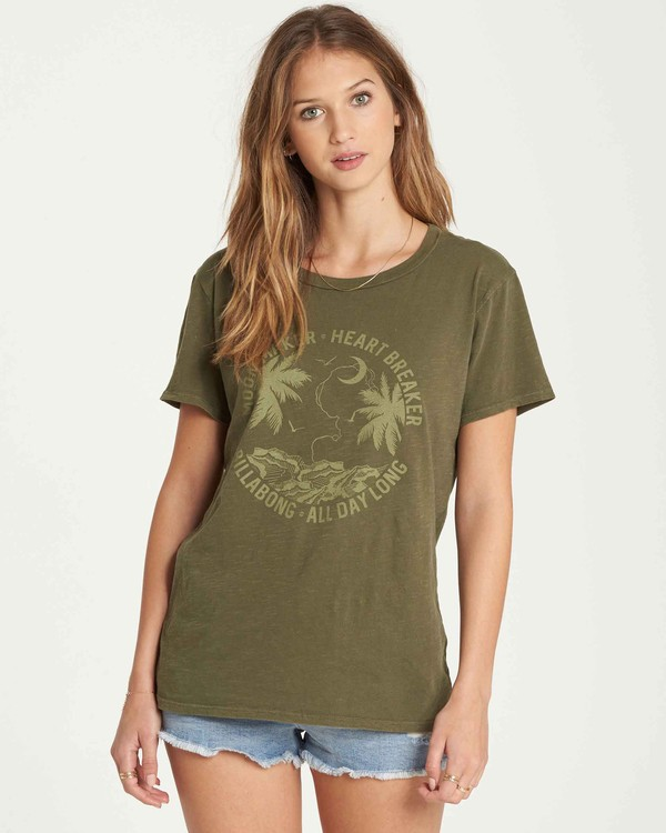 0 ALL DAY LONG Green J467QBAL Billabong