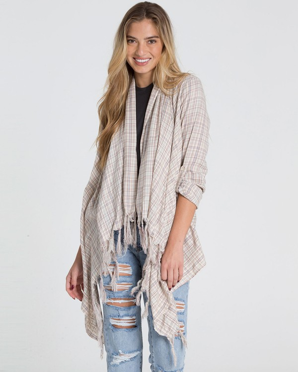 0 Live It Up Top Beige J518MLIV Billabong