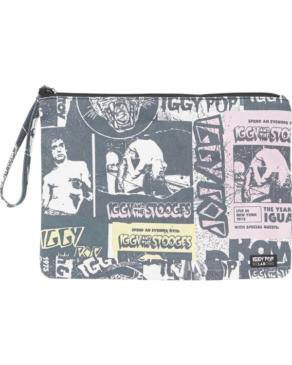 0 Women's Iggy Pop Canvas Pouch  JABGNBIG Billabong