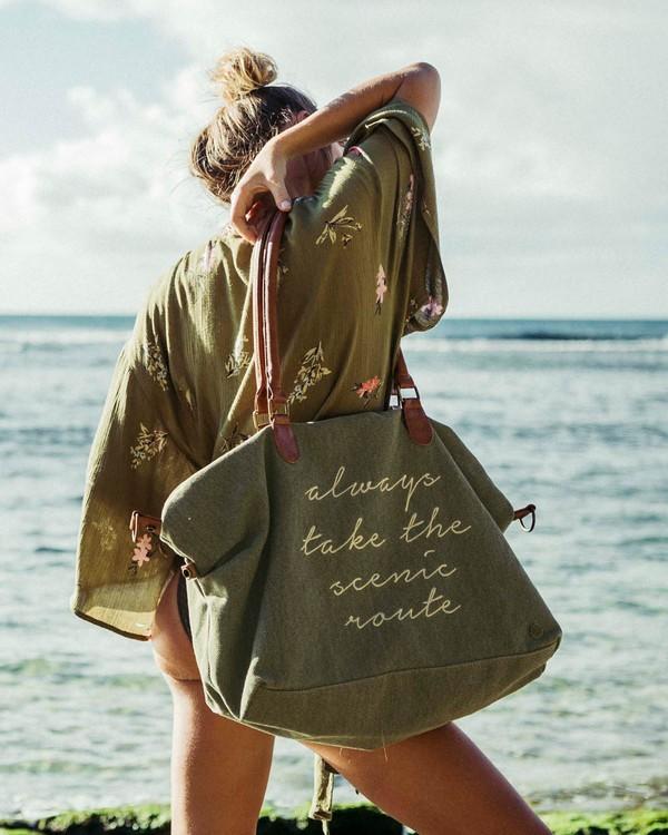 0 Bali Bliss Weekender Bag Green JABGQBBA Billabong