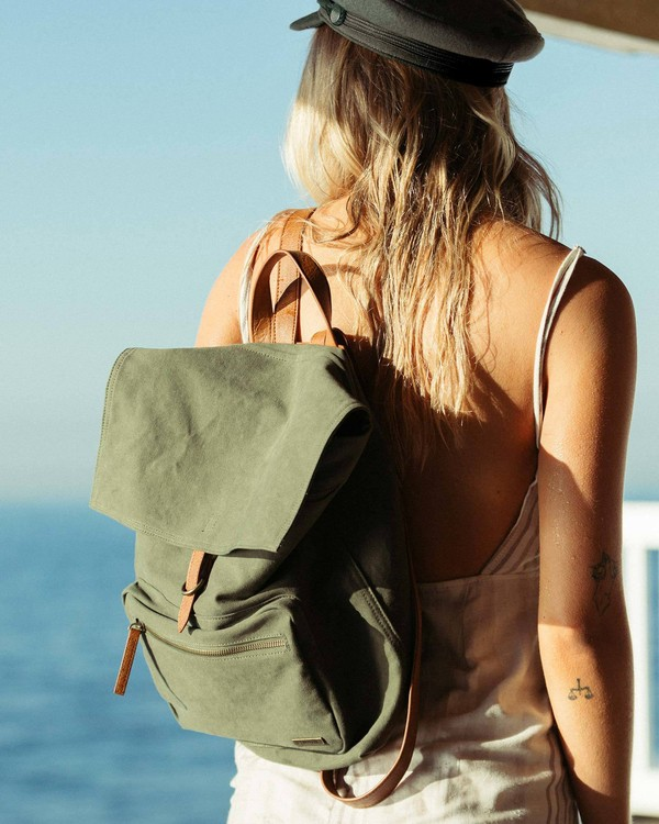 0 Back To Back Backpack Green JABGSBBA Billabong