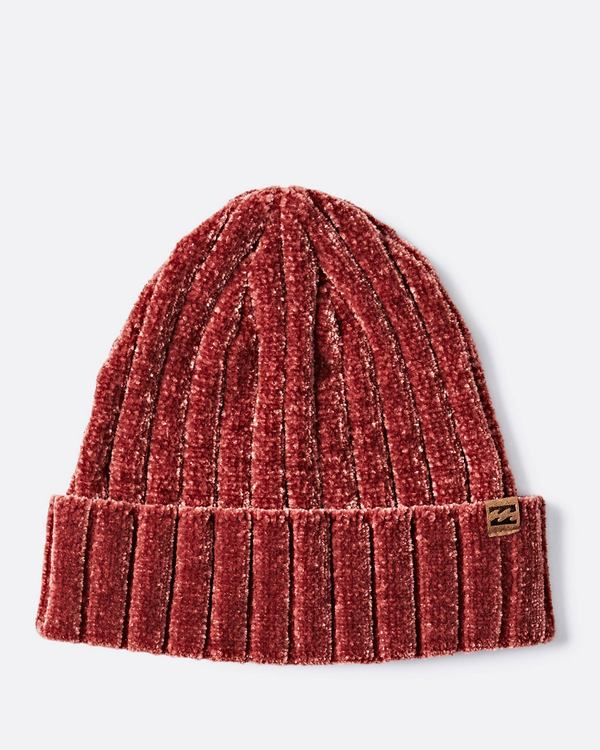 0 Warm Up Chenille Beanie Red JABNQBWA Billabong