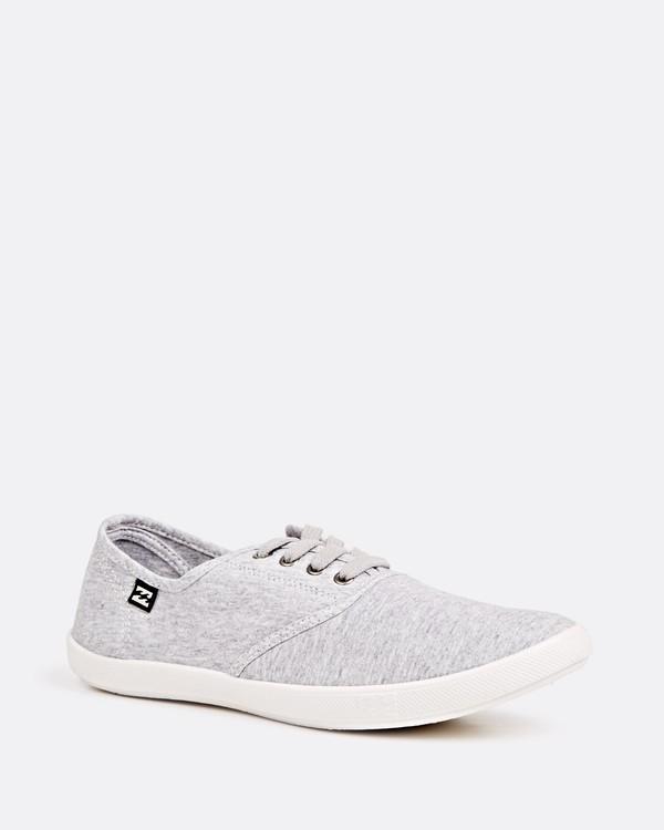 0 Addy Lace Up Shoe Grey JAFTLADD Billabong