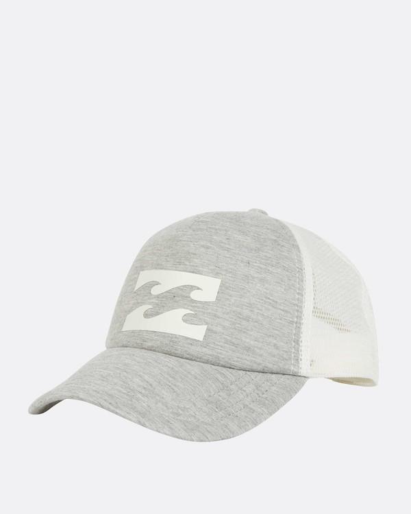 0 Billabong Trucker Hat Grey JAHTDBIL Billabong
