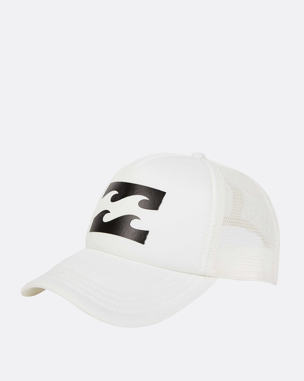0 Billabong Trucker Hat White JAHTDBIL Billabong