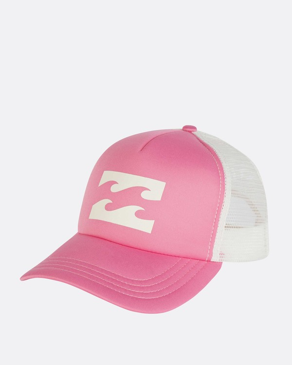 0 Billabong Trucker Hat Pink JAHTDBIL Billabong