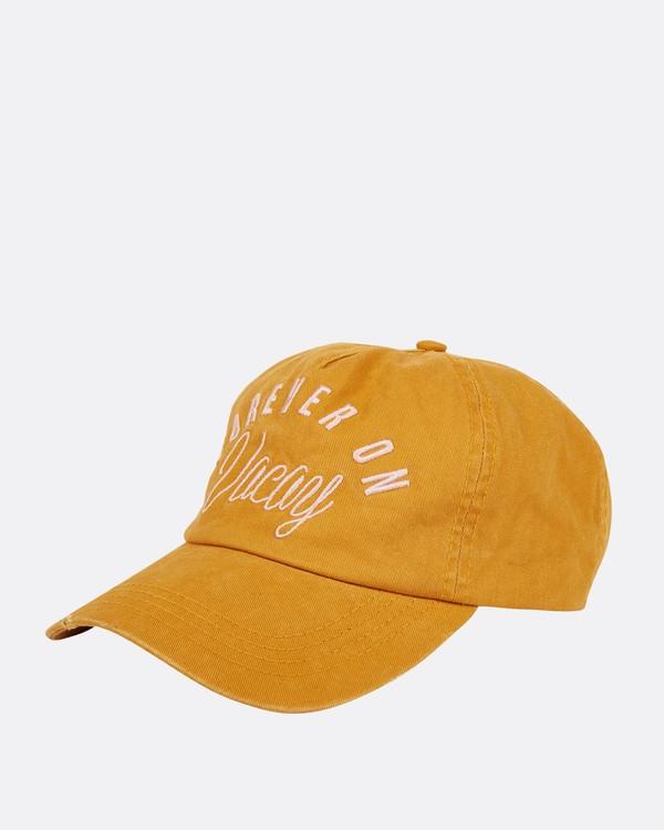 0 Surf Club Baseball Cap Yellow JAHWNBSU Billabong