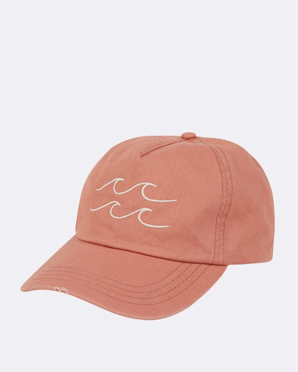 0 Surf Club Baseball Cap Orange JAHWNBSU Billabong
