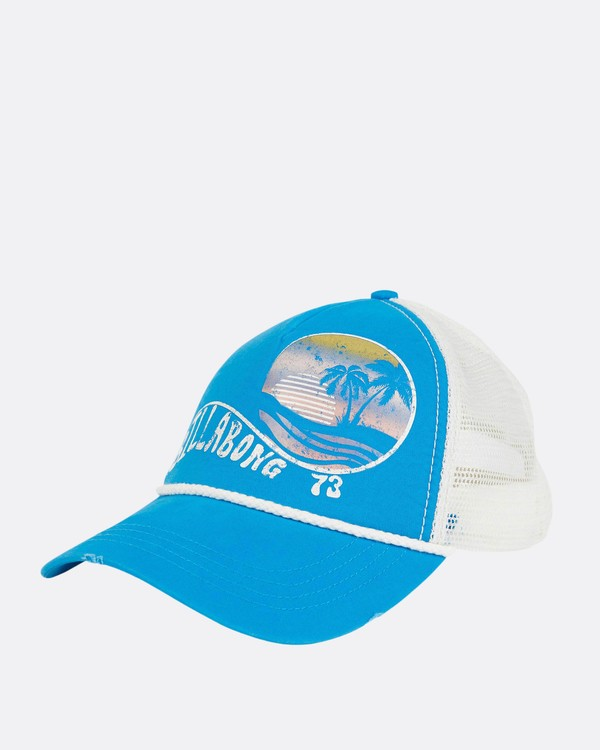0 Radical Dude Trucker Hat Blue JAHWPBRA Billabong