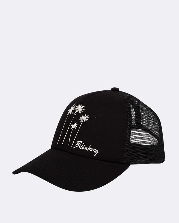 0 Aloha Forever Trucker Hat Black JAHWQBAL Billabong