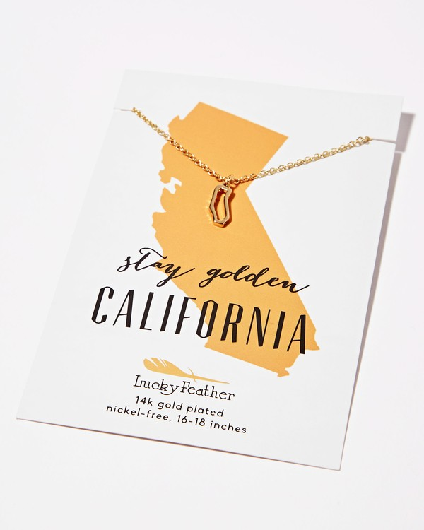 0 California Golden Necklace  JAJWXBCA Billabong