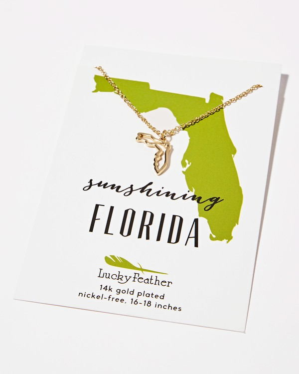 0 Florida Sunshine Necklace  JAJWXBFL Billabong