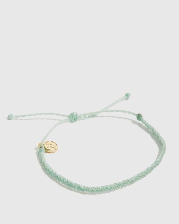 0 Mini Braided Ast Bracelet Green JAJWXBMB Billabong