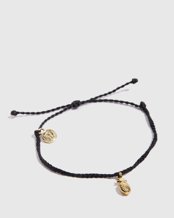0 Pineapple Bracelet Black JAJWXBPG Billabong