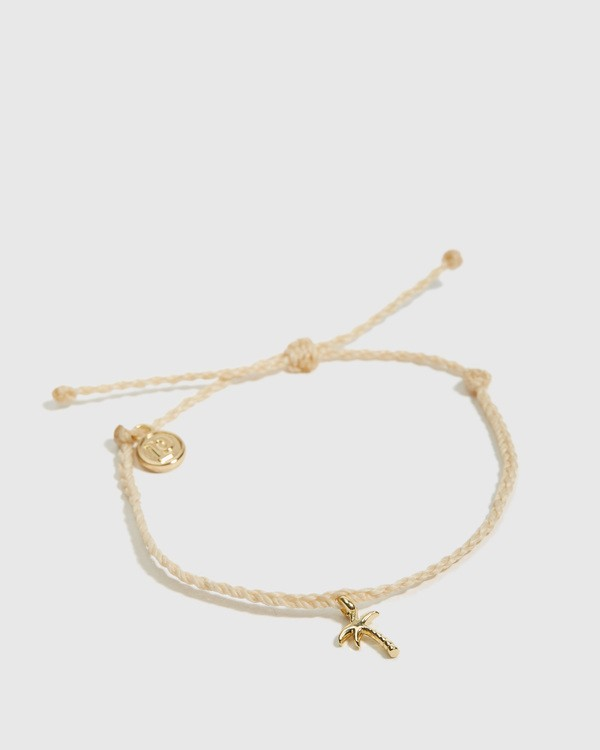 0 Palm Tree Bracelet White JAJWXBPT Billabong