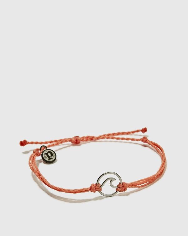 0 Silver Wave Bracelet Pink JAJWXBWA Billabong