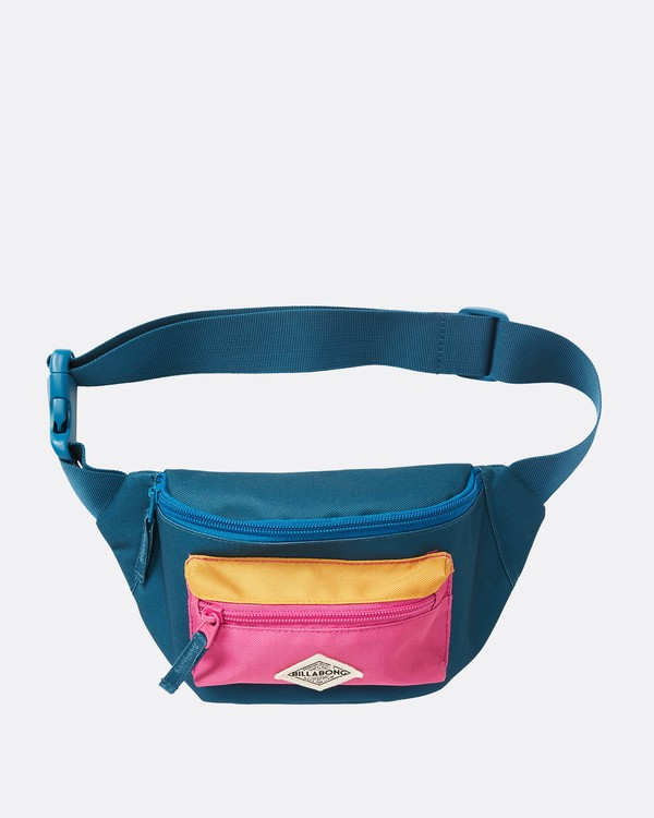 0 Zip It Waist Pack Blue JATVQBZI Billabong