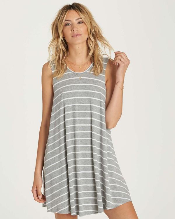 0 Knockout Dress Grey JD01NBKN Billabong