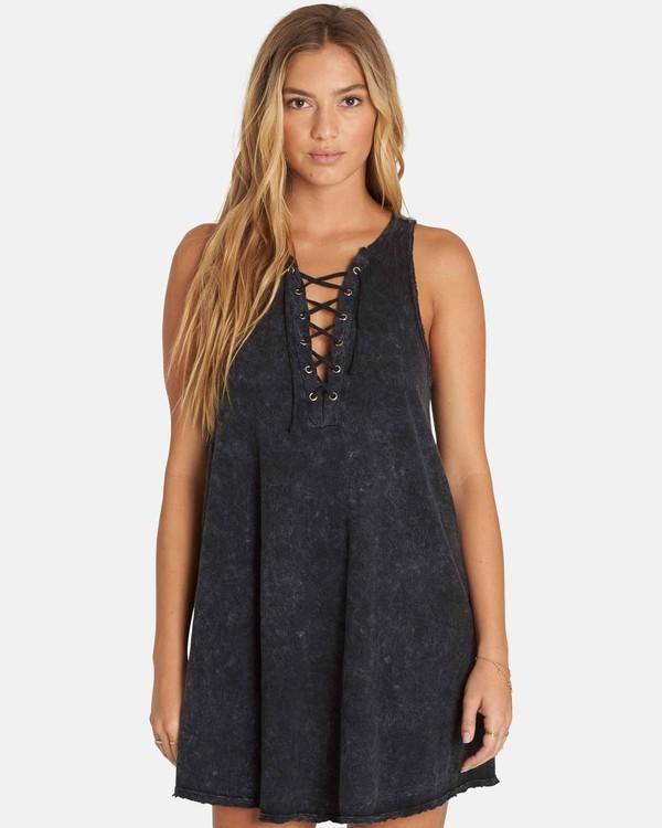 0 Let Loose Dress Black JD08PBLE Billabong