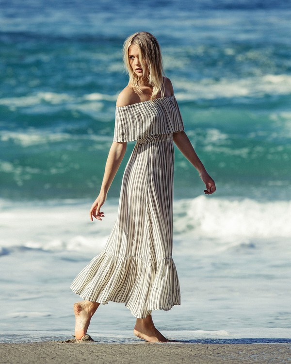 0 Island Vibes Dress White JD28NBIS Billabong