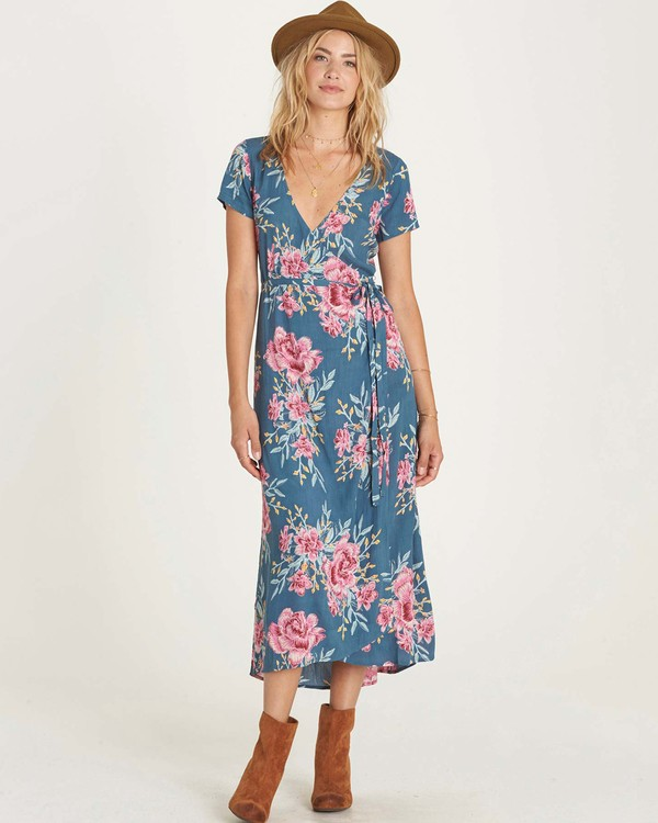 0 Wrap Me Up Dress  JD44LWRA Billabong