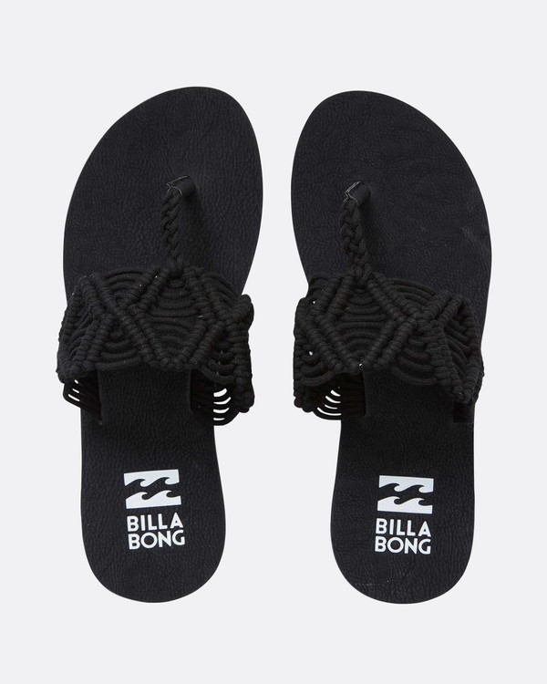 0 Setting Free 2 Sandal Black JFOTNBSE Billabong