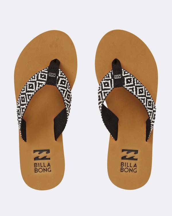 0 Baja Sandals Black JFOTPBBA Billabong