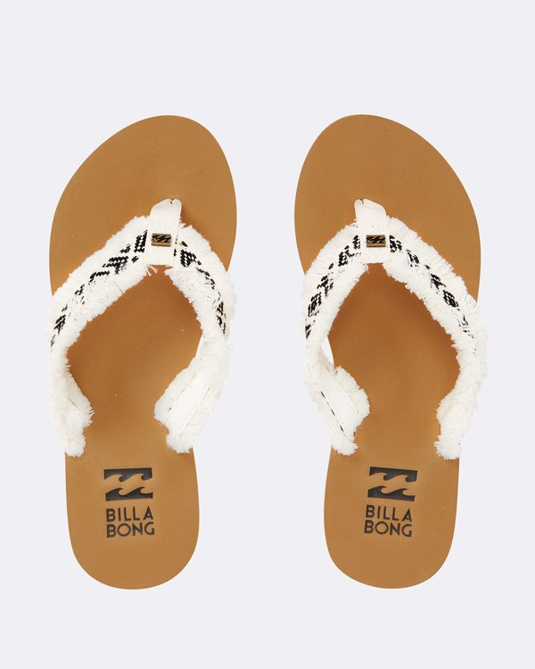 0 Baja Sandals White JFOTPBBA Billabong
