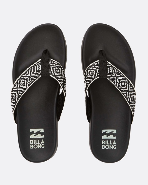 0 Beach Club Sandals Black JFOTTBBE Billabong