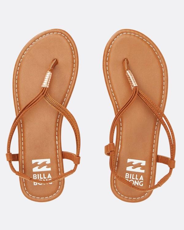 0 Strand Walk Sling Back Sandals Beige JFOTTBST Billabong