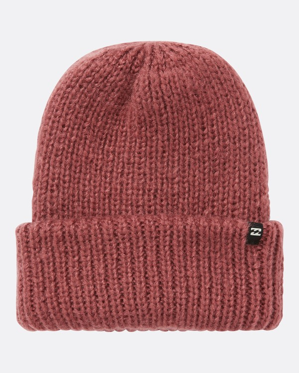 0 Women's Mountain Trip Beanie Red JSBNQMOU Billabong