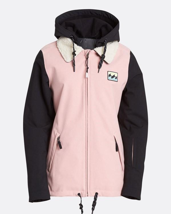 0 Women's Coastal Outerwear Jacket Pink JSNJQCOA Billabong