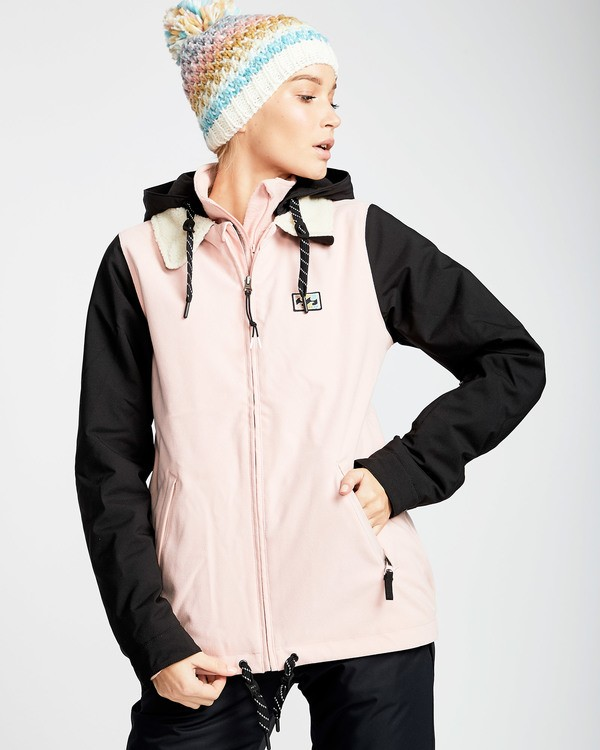 0 Women's Coastal Outerwear Jacket Pink JSNJQCOA Billabong
