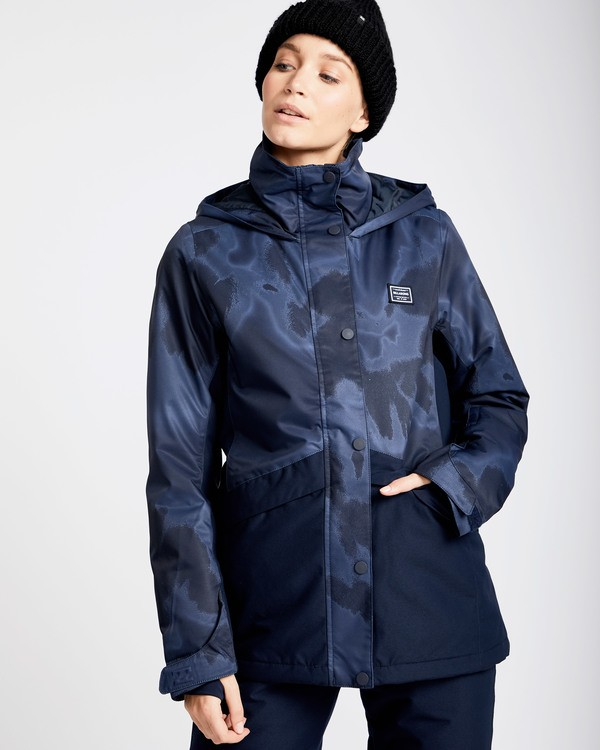 0 Women's Kayla Outerwear Jacket Brown JSNJQKAY Billabong