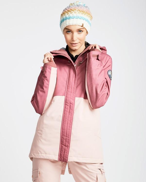 0 Women's Sienna Outerwear Jacket Red JSNJQSIE Billabong