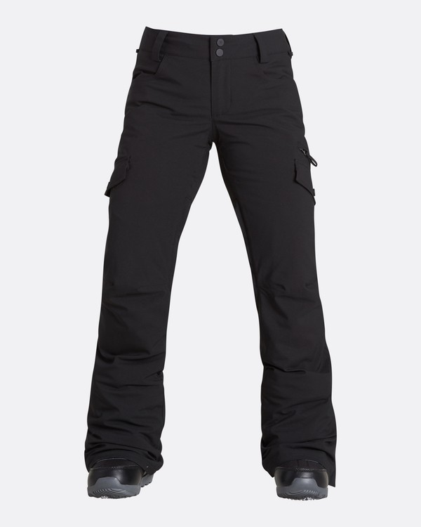 0 Women's Nela Slim Fit Outerwear Pants Black JSNPQNEL Billabong