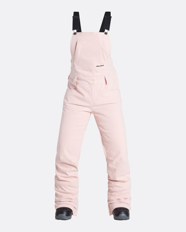 0 Women's Riva Outerwear Bib Pants Pink JSNPQRIV Billabong